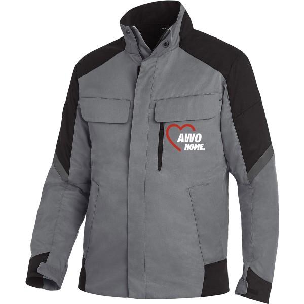 FHB FRANK Arbeitsjacke grau-schwarz