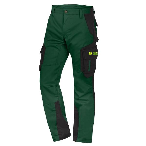 FHB FABIAN Arbeitshose grün-schwarz