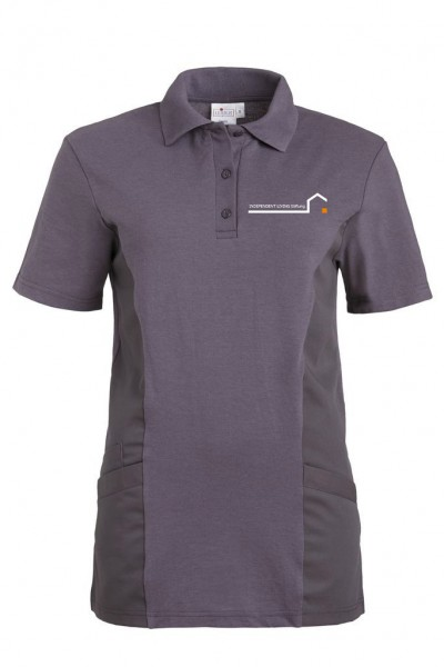 Polo-Shirt 1/2 Arm grau