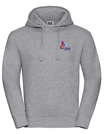 Men`s Authentic Hooded Sweat light oxford