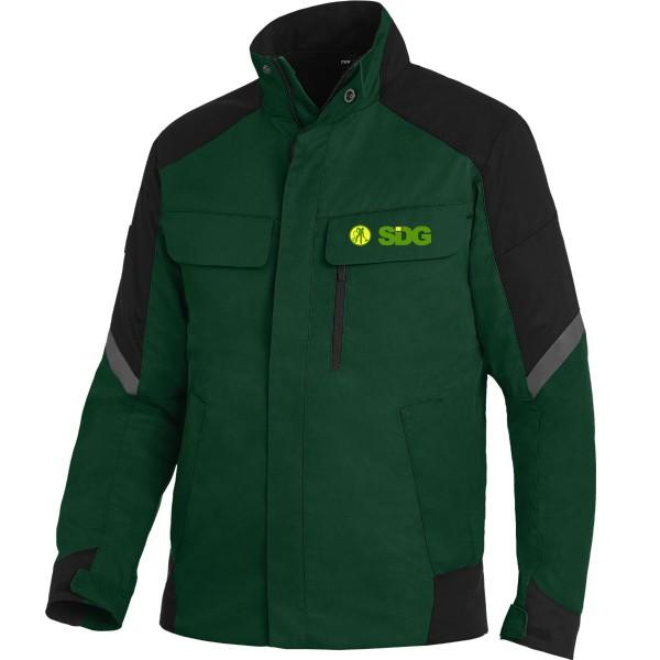 FHB FRANK Arbeitsjacke grün-schwarz