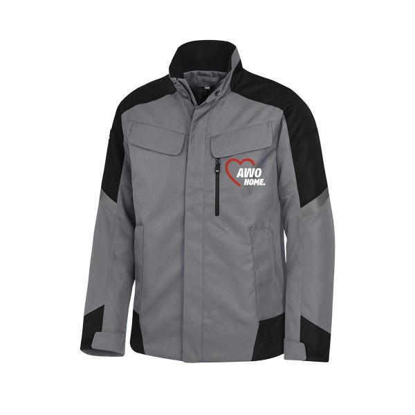 FHB LARS Arbeitsjacke grau-schwarz
