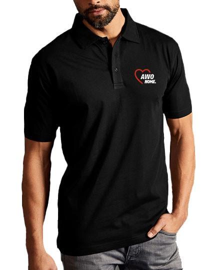 Men`s Jersey Polo black