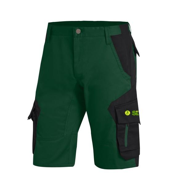 FHB WULF Bermuda grün-schwarz