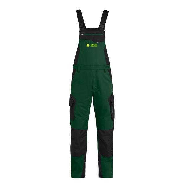 FHB PASCAL Latzhose grün-schwarz