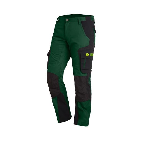FHB FLORIAN Arbeitshose grün-schwarz