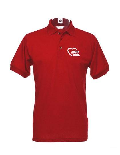Classic Fit Workwear Polo Superwash Herren red